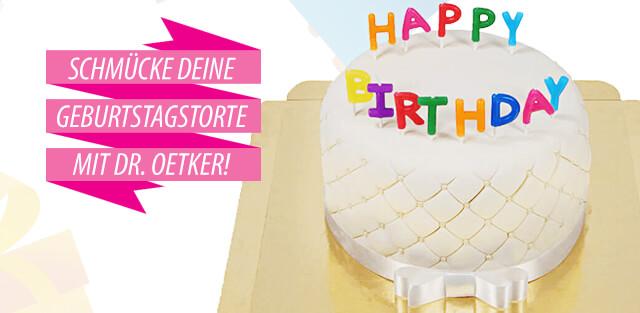 Dr. Oetker Geburtstagstorten