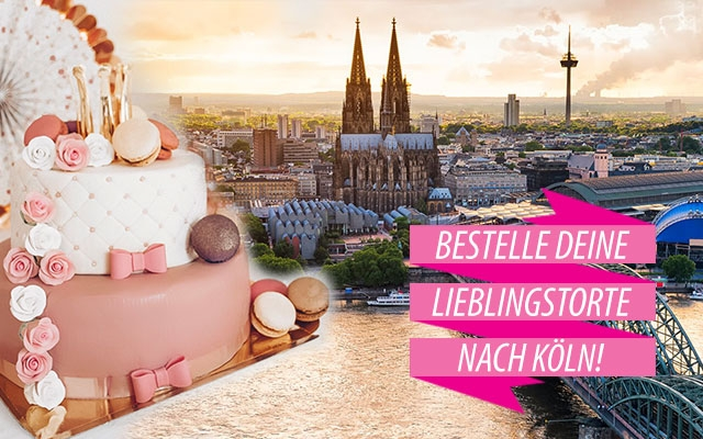 Torten nach Köln bestellen!