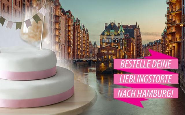 Torten nach Hamburg bestellen!
