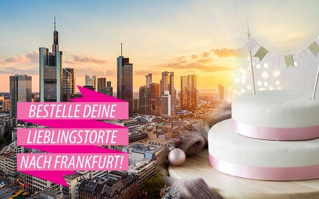 Torten nach Frankfurt bestellen!