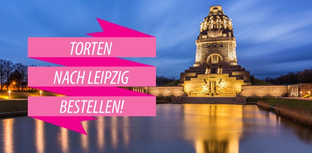 Torten nach Leipzig bestellen!