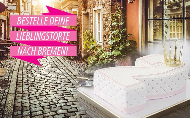 Torten nach Bremen bestellen!