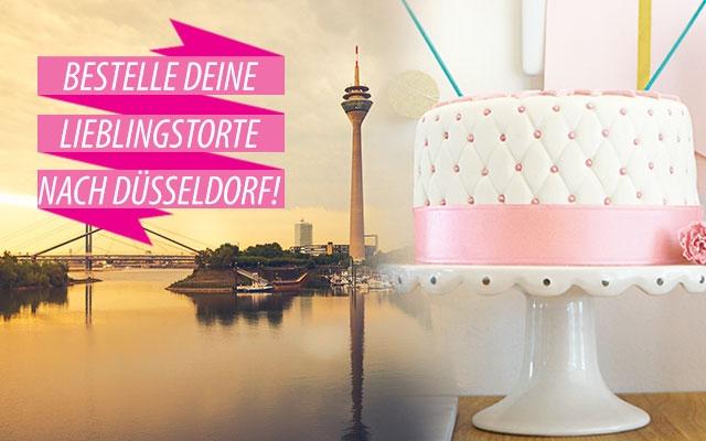 Torten nach Düsseldorf bestellen!