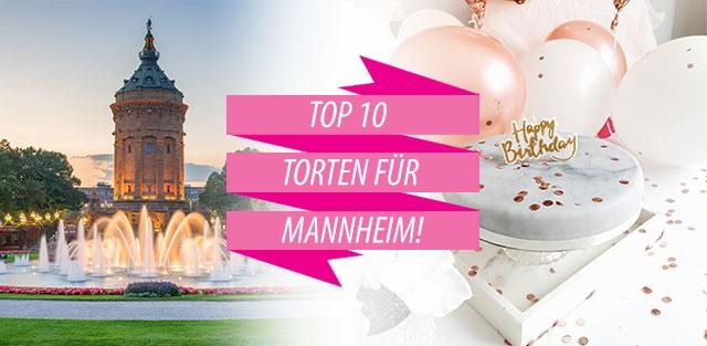 Torten nach Mannheim bestellen!