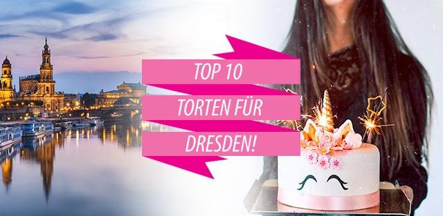 Torten nach Dresden bestellen!