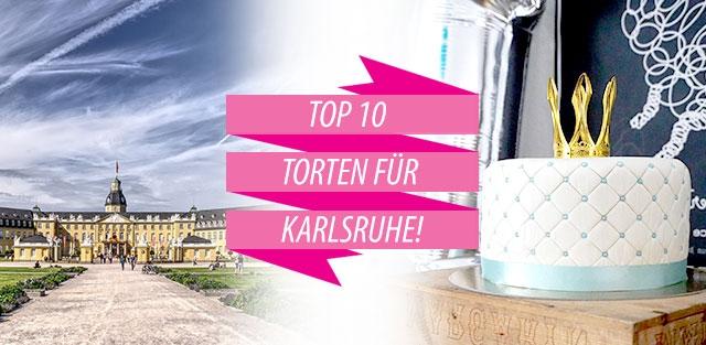 Torten nach Karlsruhe bestellen!