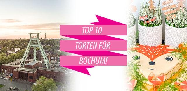 Torten nach Bochum bestellen!