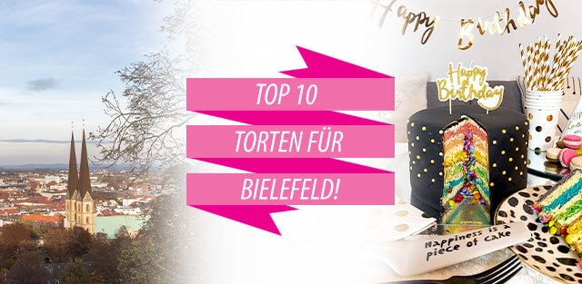 Torten nach Bielefeld bestellen!