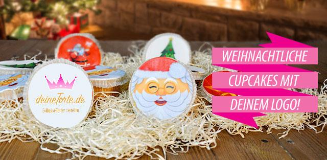 Weihnachtspräsente - Cupcakes