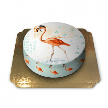 Flamingo Torte von Pia Lilenthal