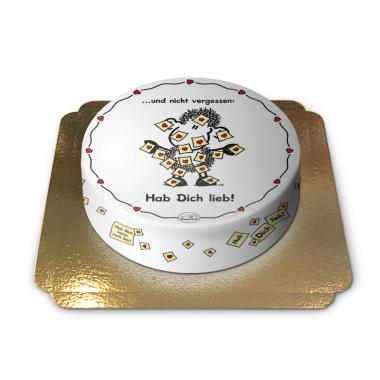 Hab dich lieb-Torte
