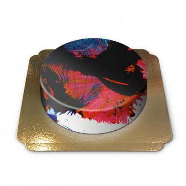 Abstrakte Torte