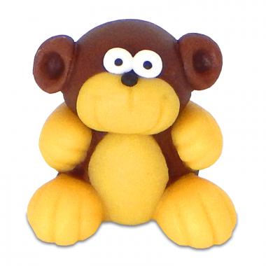 Affe aus Marzipan