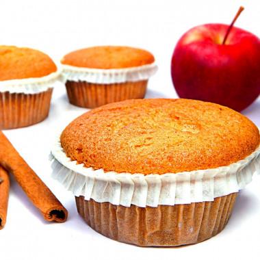 Apfel-Zimt-Muffins, 9 Stück