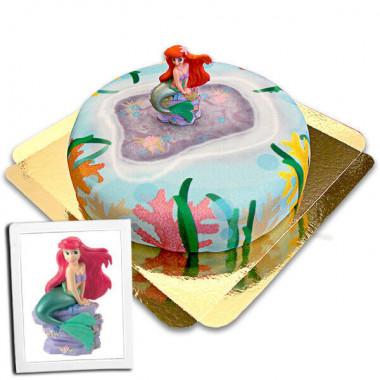 Arielle auf Korallen-Torte