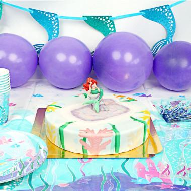 Meerjungfrauen-Partyset inkl. Torte
