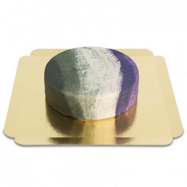 Asexuell-Flaggen-Torte