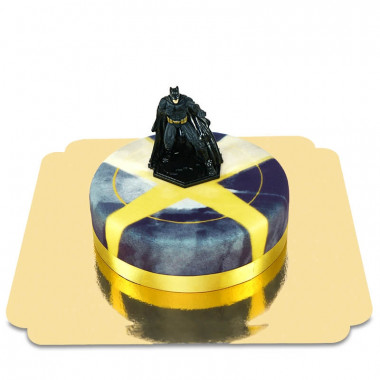 Batman auf Großstadt-Torte