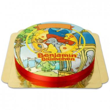 Benjamin Blümchen-Torte mit Kangaroo