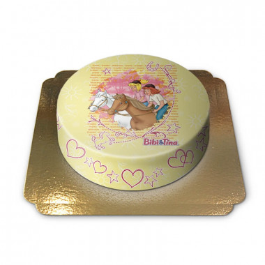 Ausritt mit Bibi & Tina-Torte