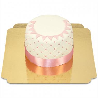 Happy Birthday Deluxe Torte - PINK - Doppelte Höhe
