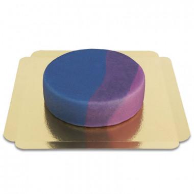 Bisexuell-Flaggen-Torte