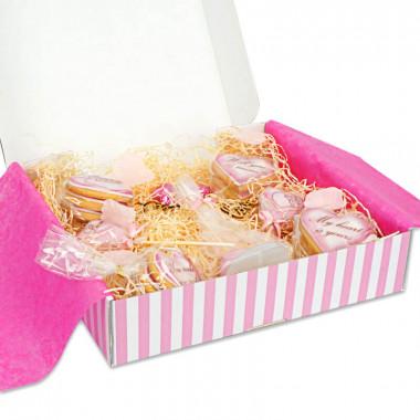 Valentinstagsgeschenkbox - Rosa