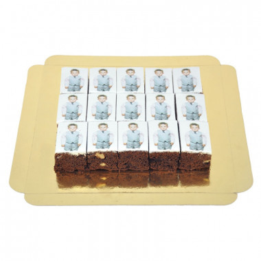 60 Foto-Brownies