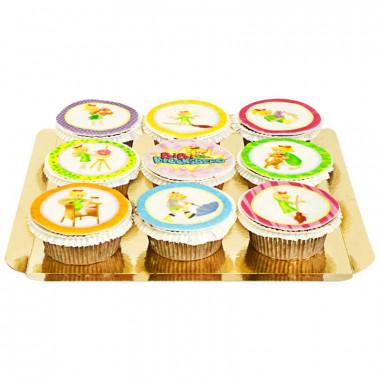 Bunte Bibi Blocksberg - Cupcakes
