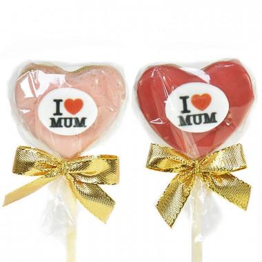 """""""I Love Mum"""" Cake-Pops"""
