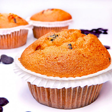 Chocolate-Chip-Muffins, 9 Stück