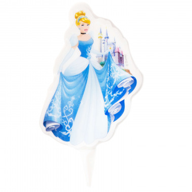 Cinderella Tortenkerze