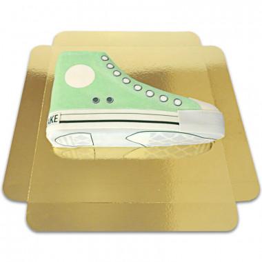 Grüne Sneaker-Torte
