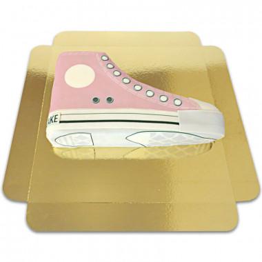 Pinke Sneaker-Torte