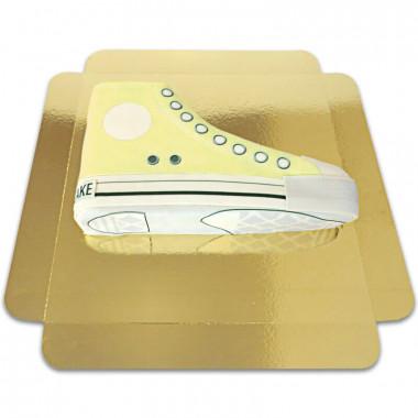 Gelbe Sneaker-Torte