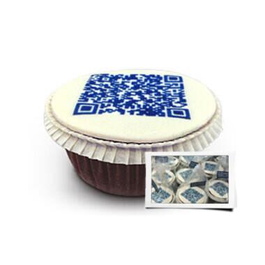 QR-Code-Cupcakes - Einzeln verpackt