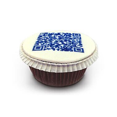 QR-Code-Cupcakes (9 Stück)