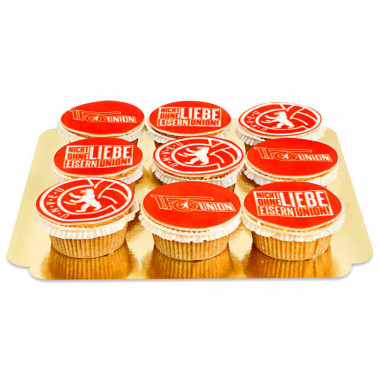 1. FC Union Berlin - Cupcakes mit Logo