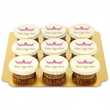 Logo-Cupcakes (9 Stück)