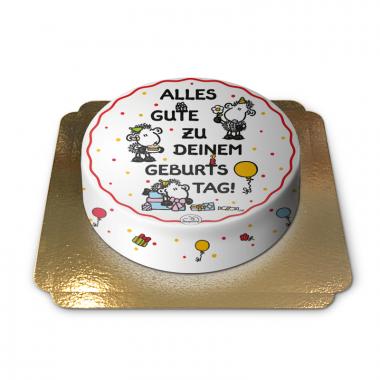 sheepworld Geburtstagstorte