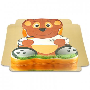 Fußball Teddy-Torte
