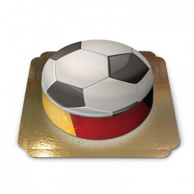 Deutschland-Fußballtorte