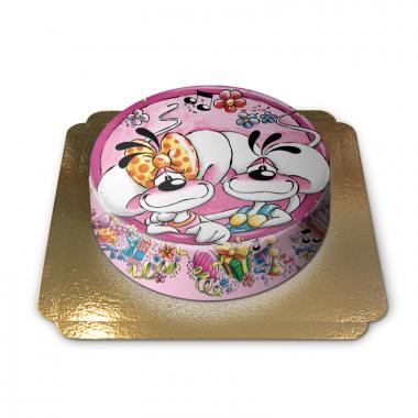 Rosa Diddl Maus Torte