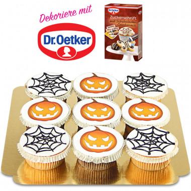 Dr. Oetker Halloween-Cupcakes