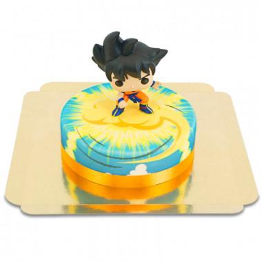 Son Goku von Dragon Ball auf Überschallwolke-Torte