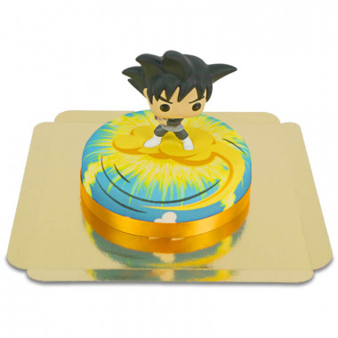 Goku Black von Dragon Ball auf Nimbus-Torte