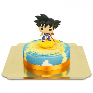 Kid Son Goku auf Überschallwolke-Torte