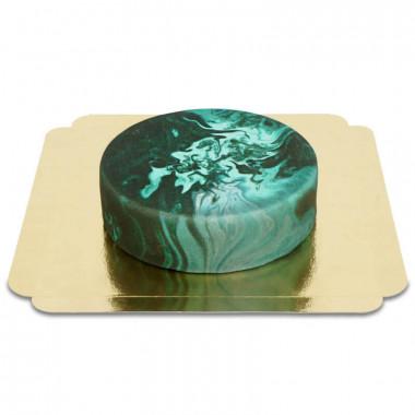 Dunkle Marmor-Torte