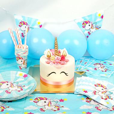 Einhorn-Partyset - inkl. Torte