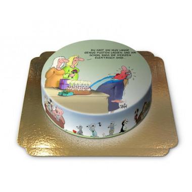 Elektrische Geburtstagskerzen